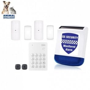 Easy Install Alarm (No Mains Power Required /Pet Friendly)