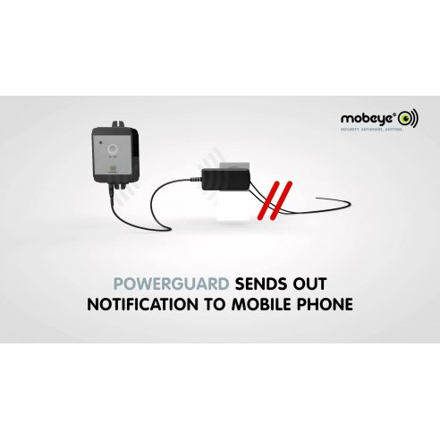 Mobeye PowerGuard -  Power Failure Alarm with Security SIM Card (Includes £10 of Credit)