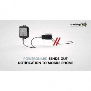 Mobeye PowerGuard with Security SIM Card.