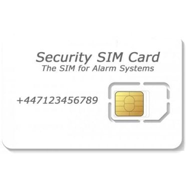 Security GSM SIM (PAYG)