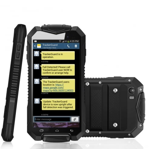 TrackerGuard - Rugged Mobile Phone With TrackerGuard APP