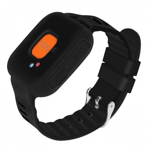 TrackerGuard - Personal alarm for the elderly (Wrist or Neck Pendant Wearable)