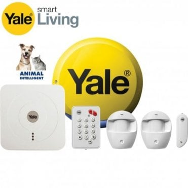Pet Friendly Yale Smart Home Alarm Kit SR 320 with Fitted Zico LED's.
