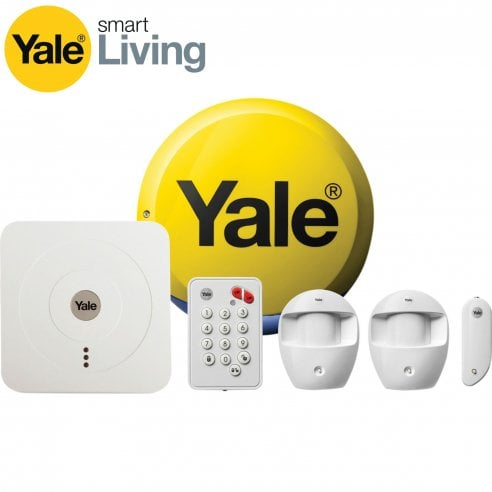 Yale Alarms - Yale Smart Home Alarm Kit SR 320 with FITTED Zico LED's.